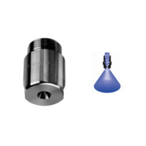Axial flow hollow cone nozzles